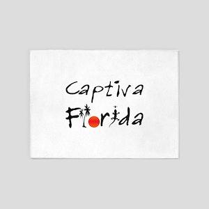 Captiva Florida 5'x7'Area Rug