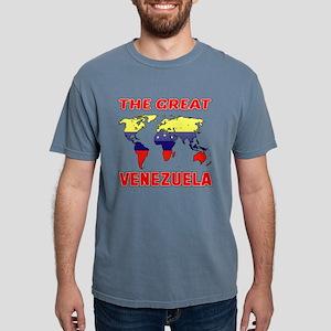 The Great Venezuela Coun Mens Comfort Colors Shirt