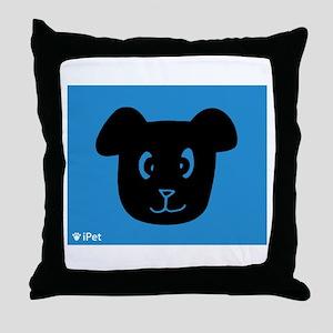 Dog iPet Throw Pillow