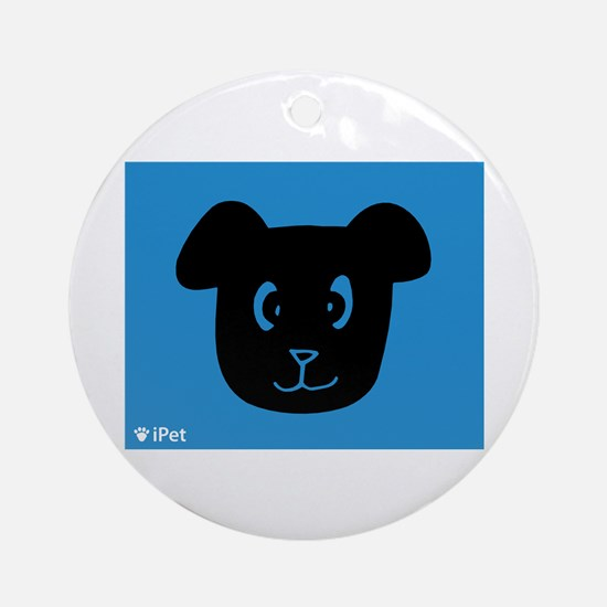 Dog iPet Ornament (Round)