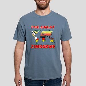The Great Zimbabwe Count Mens Comfort Colors Shirt