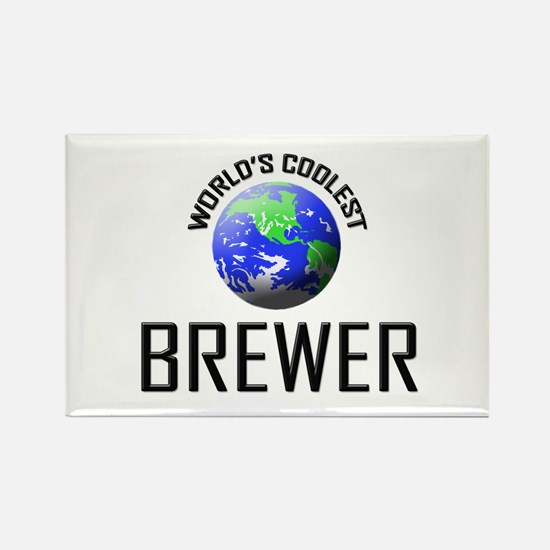 World's Coolest BREWER Rectangle Magnet