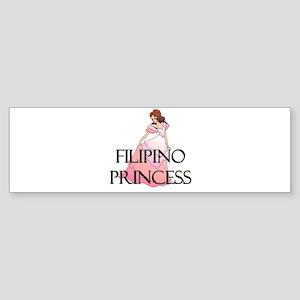 Filipino Princess Bumper Sticker