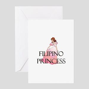 Filipino Princess Greeting Card