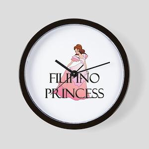 Filipino Princess Wall Clock