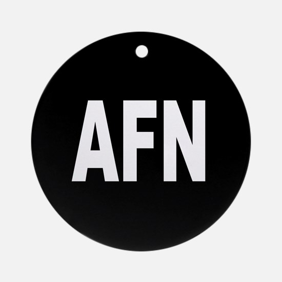 AFN Ornament (Round)