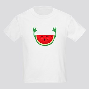 Dancing Watermelon Funny Smiling Melon Sum T-Shirt