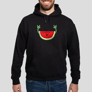 Dancing Watermelon Funny Smiling Melon Sweatshirt