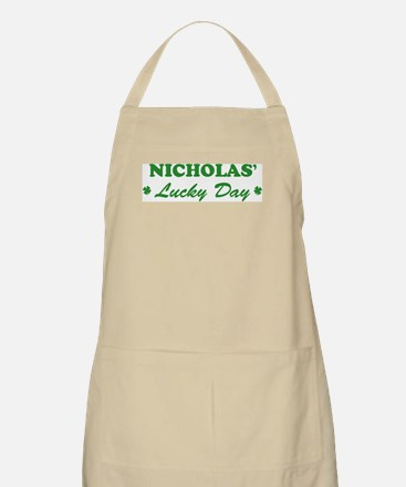 NICHOLAS - lucky day BBQ Apron