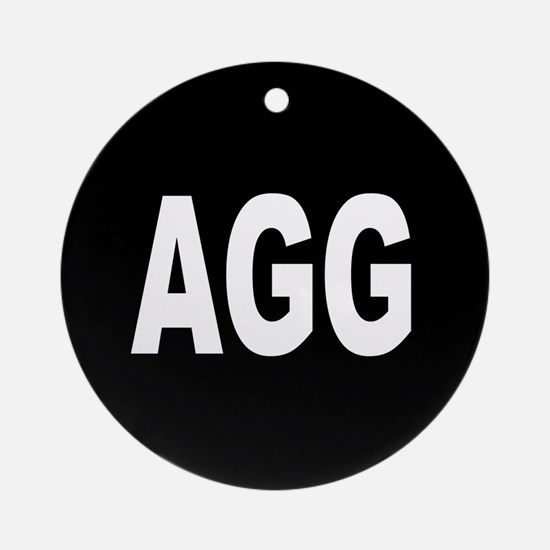 AGG Ornament (Round)