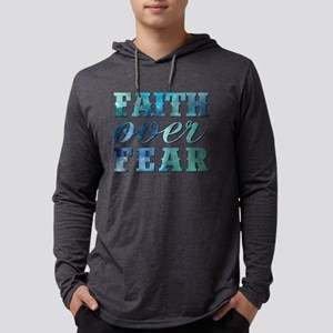 FAITH OVER FEAR Long Sleeve T-Shirt