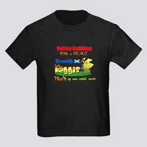 MacHaggis Country.:-) Kids Dark T-Shirt