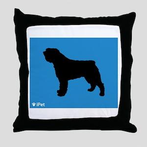 Bouvier iPet Throw Pillow
