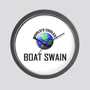 World's Coolest BOAT SWAIN Wall Clock