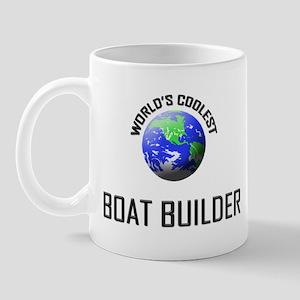 World's Coolest BOAT BUILDER Mug