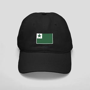 Esperanto Flag Black Cap