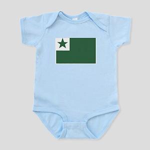 Esperanto Flag Infant Creeper
