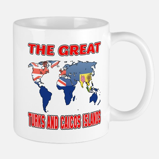 The Great Turks Country Designs Mug