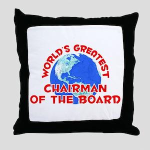 World's Greatest Chair.. (F) Throw Pillow