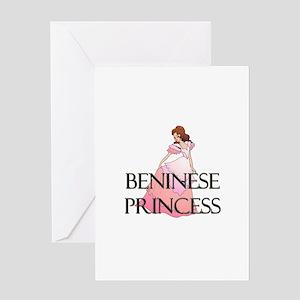 Beninese Princess Greeting Card