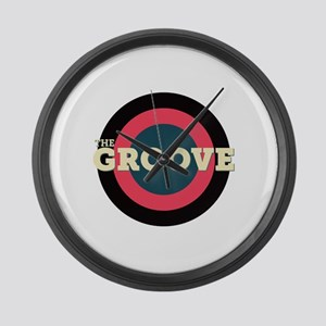 The Groove Large Wall Clock