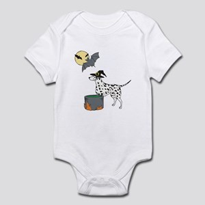 Dalmatian Witch Halloween Infant Bodysuit