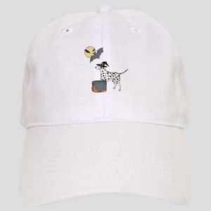 Dalmatian Witch Halloween Cap