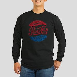 Pepsi Logo Doodle Long Sleeve T-Shirt