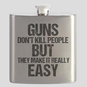 Guns Kill People Flask