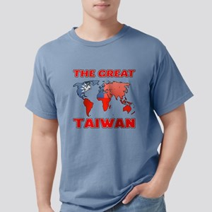 The Great Taiwan Country Mens Comfort Colors Shirt