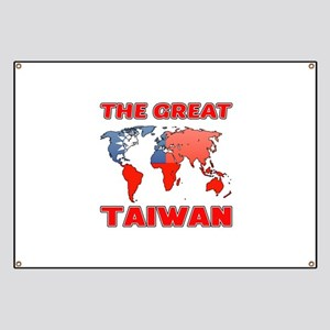The Great Taiwan Country Designs Banner