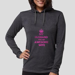 mu husband has an awesome wife Long Sleeve T-Shirt