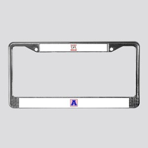 The Great Swaziland Designs License Plate Frame