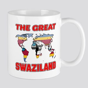 The Great Swaziland Designs 11 oz Ceramic Mug