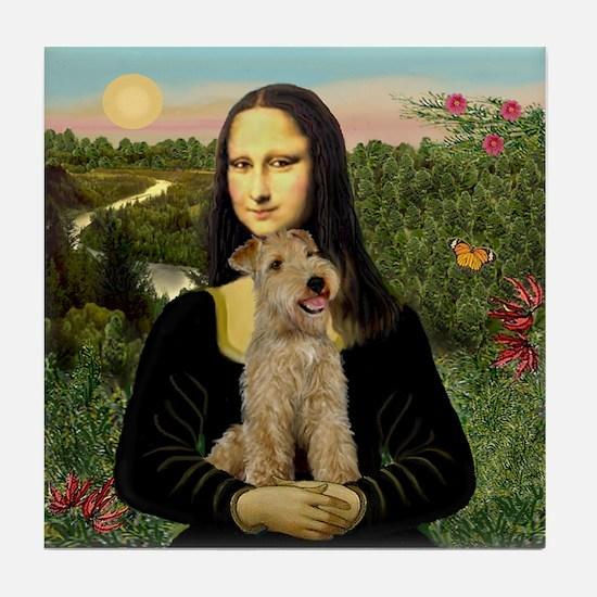 Mona & her Lakeland Tile Coaster
