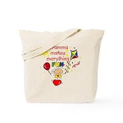 Gramma Fun Girl Tote Bag