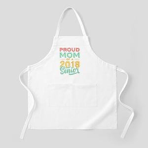 Proud Mom Of A 2018 Senior Light Apron