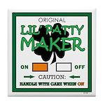 LIL' PATTY MAKER Tile Coaster