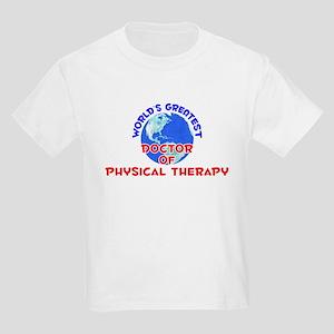 World's Greatest Docto.. (E) Kids Light T-Shirt