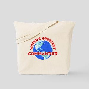 World's Greatest Comma.. (F) Tote Bag