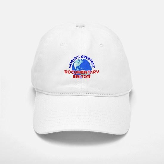 World's Greatest Docum.. (E) Baseball Baseball Cap