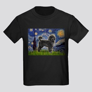 Starry Night / PWD (#2) Kids Dark T-Shirt