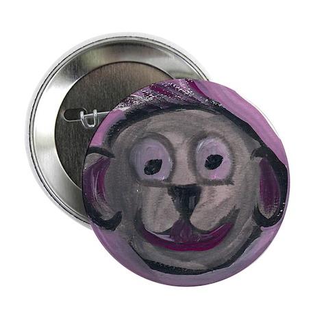 """spunky monkey"" 2.25"" Button"