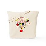 Papou Fun Girl Tote Bag