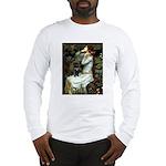 Ophelia (2) & Black Pug Long Sleeve T-Shirt
