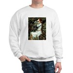 Ophelia (2) & Black Pug Sweatshirt