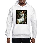Ophelia (2) & Black Pug Hooded Sweatshirt
