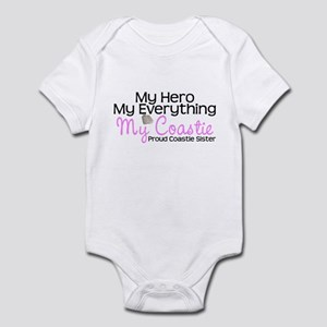 My Everything Coastie Sister Infant Bodysuit