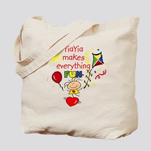 YiaYia Fun Girl Tote Bag