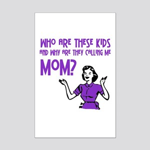 Who Are These Kids Mini Poster Print